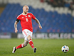 David Cotterill of Wales during the international friendly match at the Cardiff City Stadium. Photo credit should read: Philip Oldham/Sportimage