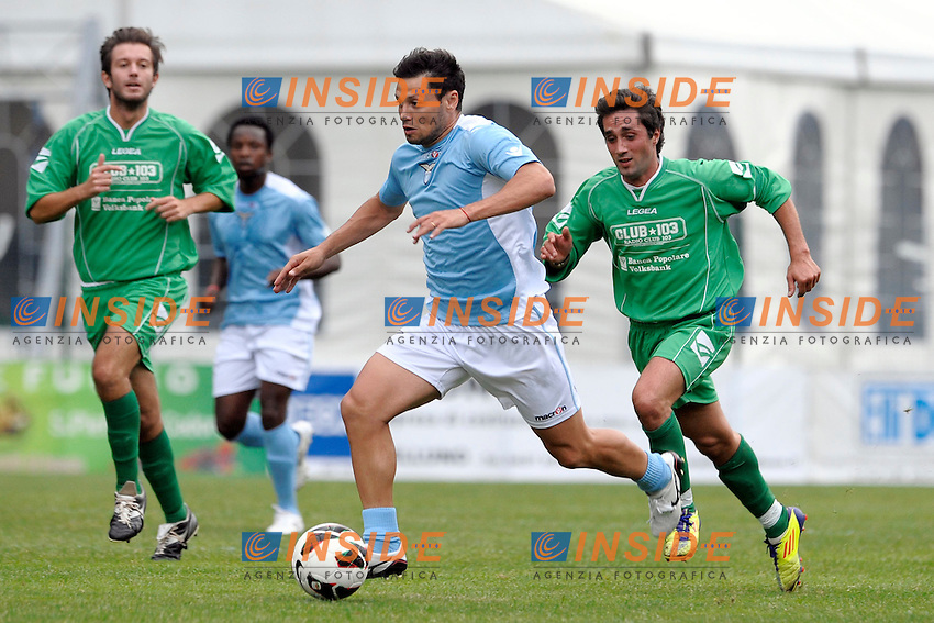 Mauro Zarate Lazio.Auronzo di Cadore 20/7/2012.Football Calcio 2012 / 2013 .Amichevole Friendly Match.SS Lazio Vs Top 11 Calcio Club 103.Foto Insidefoto.