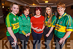 Taking part in the Kerry Camogie &ldquo;Stars in their Eyes&rdquo; fundraiser. <br /> L-r, Amy O&rsquo;Sullivan, Jane Behan, Carmel Quirke, Lorraine Hobbert and Kathleen O&rsquo;Sullivan.