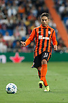 Shakhtar Donetsk´s Marlos during Champions League soccer match between Real Madrid and Shakhtar Donetsk at Santiago Bernabeu stadium in Madrid, Spain. Spetember 15, 2015. (ALTERPHOTOS/Victor Blanco)