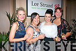 Having a great night at the annual Lee Strand social in the Ballygarry house hotel, Tralee were l-r: Sheila Galwey, Siobhán Lenihan, Carina O'Sullivan and Denise Culhane.