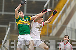Paul Geaney, Kerry in action against Conor Mc Nally Tyrone in the fourth round of the National Football league at Fitzgerald Stadium, Killarney on Sunday.