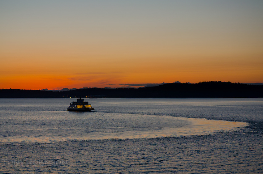 Pierce County Ferry on the South Sound
