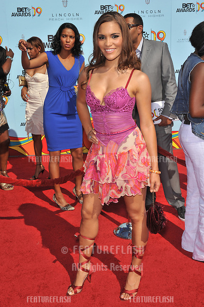 Olivia Jones at the 2009 BET Awards (Black Entertainment Television) at the Shrine Auditorium..June 28, 2009  Los Angeles, CA.Picture: Paul Smith / Featureflash