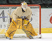 Kellen Briggs - The University of Minnesota Golden Gophers took part in their morning skate at Ralph Engelstad Arena in Grand Forks, North Dakota, on Saturday, December 10, 2005.