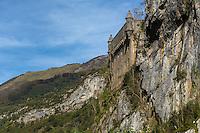 Europe, France, Aquitaine, Pyrénées-Atlantiques, Béarn, Vallée d'Aspe, Fort du Portalet // Europe, France, Aquitaine, Pyrenees Atlantiques, Bearn, Aspe Valley, Fort du Portalet