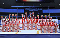 Award ceremony, JULY 2nd, 2011 - Artistic Gymnastics : JAPAN CUP 2011, Women's Team competition at Tokyo Metropolitan gymnasium, Tokyo, Japan. (Photo by Atsushi Tomura/AFLO SPORT) [1035]