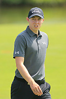 Matthew Fitzpatrick (ENG) on the 1st fairway during Round 4 of the HNA Open De France at Le Golf National in Saint-Quentin-En-Yvelines, Paris, France on Sunday 1st July 2018.<br /> Picture:  Thos Caffrey | Golffile