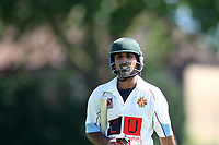 K Iqbal is finally out during Newham CC vs Barking CC, Essex County League Cricket at Flanders Playing Fields on 10th June 2017