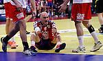 Ivan Nikcevic of Serbia reacts during men`s EHF EURO 2012 handball championship final game between Serbia and Denmark in Belgrade, Serbia, Sunday, January 29, 2011.  (photo: Pedja Milosavljevic / thepedja@gmail.com / +381641260959)