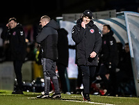Fleetwood Town's Joey Barton leaves the pitch after being sent off<br /> <br /> Photographer Andrew Kearns/CameraSport<br /> <br /> The EFL Sky Bet League One - Wycombe Wanderers v Fleetwood Town - Tuesday 11th February 2020 - Adams Park - Wycombe<br /> <br /> World Copyright © 2020 CameraSport. All rights reserved. 43 Linden Ave. Countesthorpe. Leicester. England. LE8 5PG - Tel: +44 (0) 116 277 4147 - admin@camerasport.com - www.camerasport.com