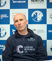 Putney, London,  Tideway Week, Championship Course. River Thames, OUBC, Press Conference, <br /> Coach, Sean BOWDEN, <br /> [Mandatory Credit; Credit: Peter SPURRIER/Intersport Images.com ]