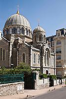 Europe/France/Aquitaine/64/Pyrénées-Atlantiques/Pays-Basque/Biarritz: L'église orthodoxe russe, construite en 1892 sur le domaine impérial