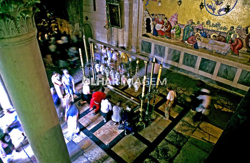 Basílica da Anunciação em Nazaré. Israel. 1995. Foto de João Caldas.