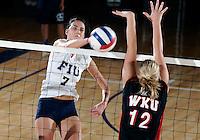 FIU Volleyball v. WKU (10/2/09)