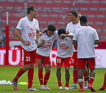 Sport: Fussball: 1. Bundesliga:: nphgm001:  Saison 19/20: 33. Spieltag: 1. FSV Mainz 05 vs SV Werder Bremen 20.06.2020<br />Mainzer Schlussjubel nach dem Klassenerhalt,<br /> Foto: Bratic/rscp-photovia/via gumzmedia/nordphoto<br /><br />DFL regulations prohibit any use of photographs as image sequences and/or quasi-video.<br />EDITORIAL USE ONLY.<br />National and international News-Agencies OUT.<br /><br />  DFL REGULATIONS PROHIBIT ANY USE OF PHOTOGRAPHS AS IMAGE SEQUENCES AND OR QUASI VIDEO<br /> EDITORIAL USE ONLY<br /> NATIONAL AND INTERNATIONAL NEWS AGENCIES OUT