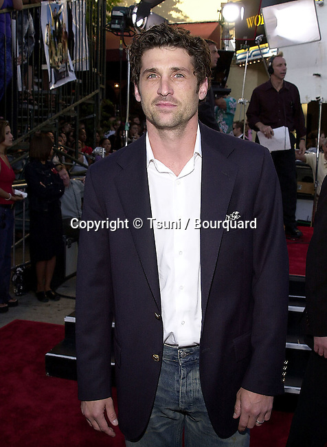Patrick Dempsey arriving at the premiere of 'America's Sweethearts' at the Village Theater in Los Angeles, Ca. 7/17/01.           -            DempseyPatrick01.jpg