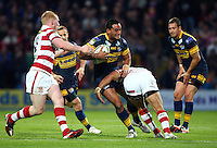 PICTURE BY VAUGHN RIDLEY/SWPIX.COM - Rugby League - Super League - Leeds Rhinos v Wigan Warriors - Headingley, Leeds, England - 01/06/12 - Leeds Weller Hauraki.