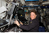 FILE: In this photo released by NASA, Astronaut Lisa M. Nowak, STS-121 mission specialist, works with the Mobile Service System (MSS) and Canadarm2 controls in the Destiny laboratory of the International Space Station while Space Shuttle Discovery was docked to the station in Earth orbit on July 12, 2006.<br /> Credit: NASA via CNP