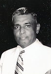 "Undated - Justice Radhabinod Pal (1886 - 1967) was an Indian jurist. He was the Indian member appointed to the International Military Tribunal for the Far East's trials of Japanese war crimes committed during the WWII . He found all the defendants not guilty of Class A war crimes, ""Dissentient judgment of Justice Pal International Military Tribunal for the Far East"". (Photo by Kingendai Photo Library/AFLO)"