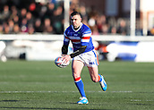 3rd February 2019, Trailfinders Sports Ground, London, England; Betfred Super League rugby, London Broncos versus Wakefield Trinity; Tyler Randell of Wakefield Trinity in action