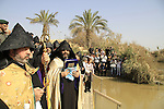Qasr al Yahud in Jericho plains, the Armenian Orthodox Church celebrate the Feast of the Baptism of the Lord at the Jordan River
