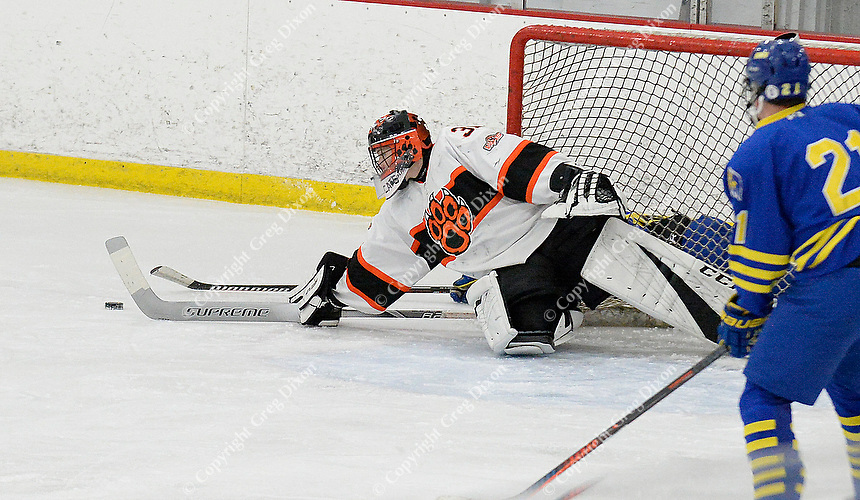 Madison West at Verona Wisconsin High School Hockey 1/3/20
