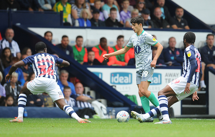 Blackburn Rovers' John Buckley<br /> <br /> Photographer Kevin Barnes/CameraSport<br /> <br /> The EFL Sky Bet Championship - West Bromwich Albion v Blackburn Rovers - Saturday 31st August 2019 - The Hawthorns - West Bromwich<br /> <br /> World Copyright © 2019 CameraSport. All rights reserved. 43 Linden Ave. Countesthorpe. Leicester. England. LE8 5PG - Tel: +44 (0) 116 277 4147 - admin@camerasport.com - www.camerasport.com