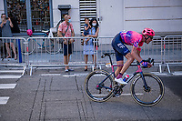 Hugh Carthy (GBR/EF Education First) racing in the streets of Nice<br /> <br /> Stage 2 from Nice to Nice (186km)<br /> <br /> 107th Tour de France 2020 (2.UWT)<br /> (the 'postponed edition' held in september)<br /> <br /> ©kramon