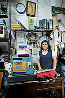 Maritza Aguirre Lopez. Hardware store owners in Guadalajara, Jalisco,  Mexico.
