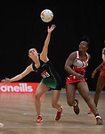 Northern Ireland v Trinidad & Tobago<br /> 2019 Test Match Series<br /> Viola Arena Wales<br /> 06.07.19<br /> ©Steve Pope<br /> Sportingwales