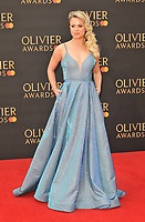Joanne Clifton at the Olivier Awards 2019, Royal Albert Hall, Kensington Gore, London, England, UK, on Sunday 07th April 2019.<br /> CAP/CAN<br /> &copy;CAN/Capital Pictures
