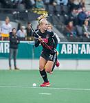 AMSTELVEEN -  Lana Kalse (Adam)  tijdens de hoofdklasse hockeywedstrijd dames,  Amsterdam-Den Bosch (1-1).   COPYRIGHT KOEN SUYK