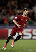 Football Soccer: UEFA Champions League AS Roma vs Chelsea Stadio Olimpico Rome, Italy, October 31, 2017. <br /> Roma's Stephan El Shaarawy celebrates after scoring during the Uefa Champions League football soccer match between AS Roma and Chelsea at Rome's Olympic stadium, October 31, 2017.<br /> UPDATE IMAGES PRESS/Isabella Bonotto