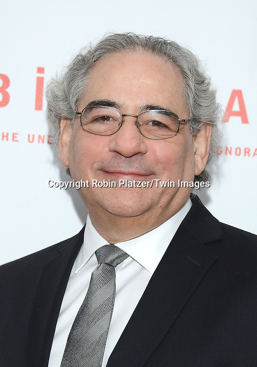 Co-President of Fox Searchlight Steven Gilula attends &quot;Birdman or The Unexpected Virtue of Ignorance&quot; screening at The 52nd New York Film Festival on October 11, 2014 at Alice Tully Hall in New York City.<br /> <br /> photo by Robin Platzer/Twin Images<br />  <br /> phone number 212-935-0770