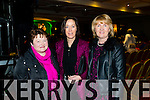 Pictured at the Phil Coulter Concert in association with Westfest at the Devon Inn Hotel, Templeglantine on Friday night was L-R: Helen Culhane, Ardagh, Mary Hurley, Oldmill and Aine Kennedy, Newcastle West.