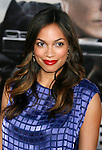 "WESTWOOD, CA. - June 23: Actress Rosario Dawson arrives at the 2009 Los Angeles Film Festival's premiere of ""Public Enemies"" at the Mann Village Theatre on June 23, 2009 in Westwood, Los Angeles, California."