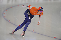 SPEEDSKATING: BERLIN: Sportforum Berlin, 27-01-2017, ISU World Cup, Bo van der Werff (NED), ©photo Martin de Jong