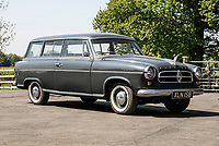 BNPS.co.uk (01202 558833)<br /> Pic: SilverstoneAuctions/BNPS<br /> <br /> 1959 Borgward Isabella Combi<br /> <br /> A quirky collection of rare and unusual cars is set to go under the hammer for more than £300,000.<br /> <br /> The group of 16 classic motors range from hand-built replica racing cars to barely used family saloons.<br /> <br /> They are currently owned by an esteemed British collector but have now been consigned to sale with Silverstone Auctions of Ashorne, Warwicks.