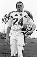 Bob Kosid 1970 Canadian Football League Allstar team. Copyright photograph Ted Grant