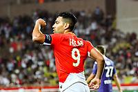 Joie Radamel Falcao (AS Monaco)<br /> 04-08-2017 <br /> Monaco - Toulouse <br /> Calcio Ligue 1 2017/2018 <br /> Foto Scanella/ Panoramic/Insidefoto