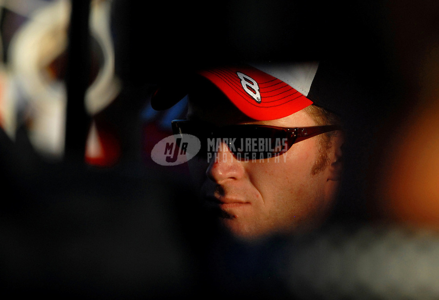 Nov. 12, 2006; Avondale, AZ, USA; Nascar Nextel Cup driver Dale Earnhardt Jr (8) during the Checker 500 at Phoenix International Raceway. Mandatory Credit: Mark J. Rebilas