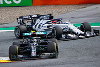 12th July 2020; Styria, Austria; FIA Formula One World Championship 2020, Grand Prix of Styria race day; FIA Formula One World Championship 2020, Grand Prix of Styria,  77 Valtteri Bottas FIN, Mercedes-AMG Petronas Formula One Team