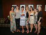 7 Actresses star in Summer Stock NYC - Opening Night party  - As The World Turns' Colleen Zenk along with her daughter Kelsey Crouch Pinter (second left) and 5 actresses - Karen Mason (center), Kelly Felthous (R), Carrie Manolakos (second left), Pearl Sun (L) and Dana Steingold (second right) star as CAP 21 presents SUMMER STOCK NYC, a celebration of the Broadway Musical on July 17, 2010 at the Michael Schimmel Center for the Arts, Pace University, NYC. (Photo by Sue Coflin/Max Photos)