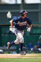 Atlanta Braves Bradley Keller (66) during an instructional league game against the Toronto Blue Jays on September 30, 2015 at the ESPN Wide World of Sports Complex in Orlando, Florida.  (Mike Janes/Four Seam Images)