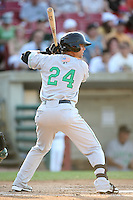 May 29, 2010: Matthew Cerione (24) of the Clinton LumberKings at Elfstrom Stadium in Geneva, IL. The LumberKings are the Midwest League Class A affiliate of the Seattle Mariners. Photo by: Chris Proctor/Four Seam Images