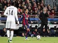 Paris Saint-Germain's coach Laurent Blanc during Champions League 2014/2015 match.December 10,2014. (ALTERPHOTOS/Acero) /NortePhoto