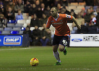 Jake Howells of Luton Town in acton during the Sky Bet League 2 match between Luton Town and Yeovil Town at Kenilworth Road, Luton, England on 2 February 2016. Photo by Liam Smith.