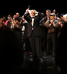 Hal Prince during the 'Phantom of the Opera' - 25 Years on Broadway Gala Performance Curtain Call Celebration at the Majestic Theatre in New York City on 1/26/2013