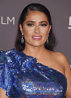 LOS ANGELES, CA - NOVEMBER 04: Actor Salma Hayek attends the 2017 LACMA Art + Film Gala Honoring Mark Bradford and George Lucas presented by Gucci at LACMA on November 4, 2017 in Los Angeles, California.<br /> CAP/ROT/TM<br /> &copy;TM/ROT/Capital Pictures